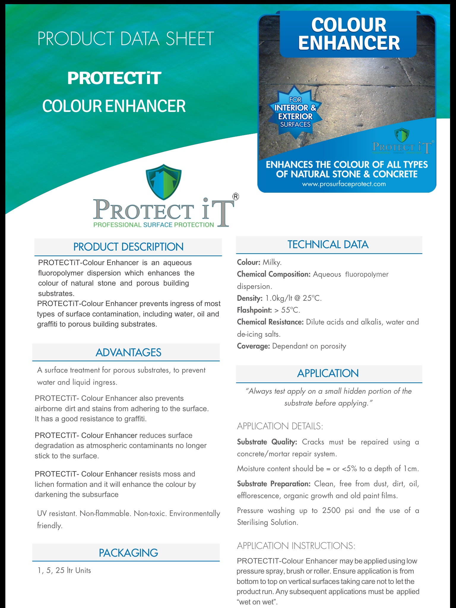Protect It-Colour Enhancer Data sheet 1