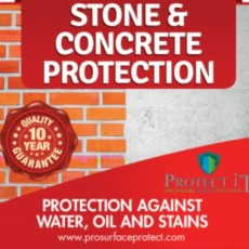 Protect It-Stone & Concrete Protection