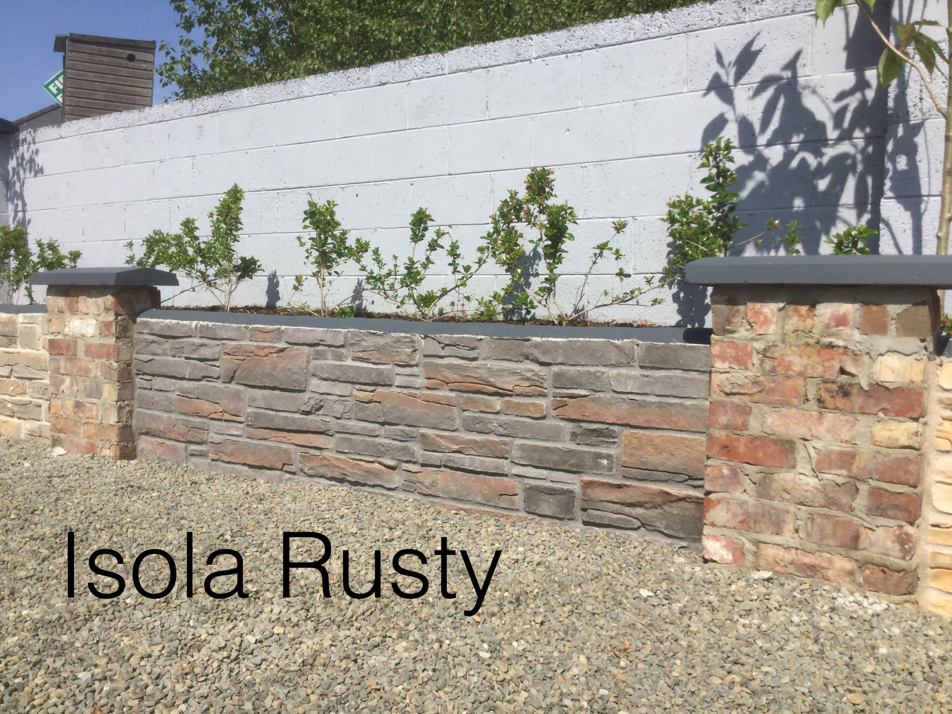 Drogheda Showroom Isola Rusty